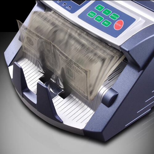 3-AccuBANKER AB 1100 PLUS UV/MG sedelräknare