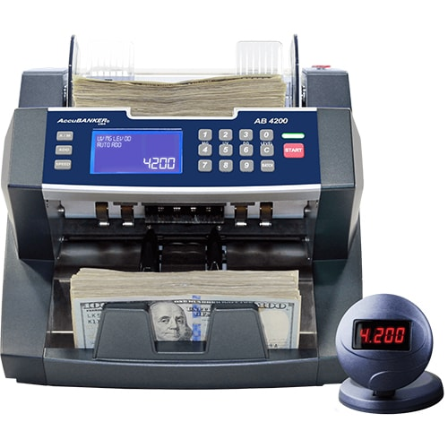 1-AccuBANKER AB 4200 UV/MG sedelräknare