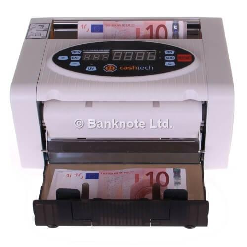 3-Cashtech 340 A UV  sedelräknare