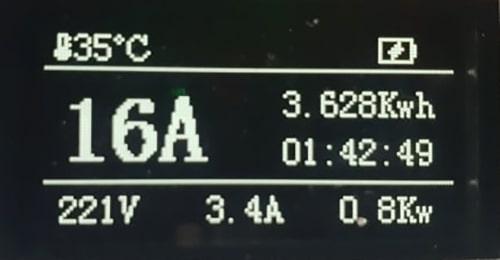4-EV EVSE Type1 (max. 16A) EV Laddkabel