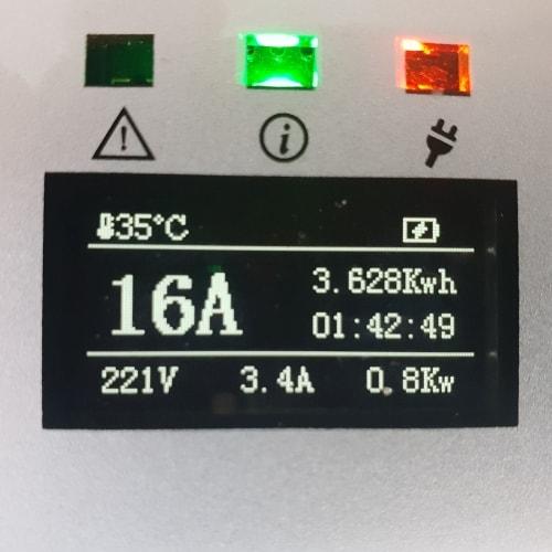 3-EV EVSE Type2 (max. 16A) EV Laddkabel