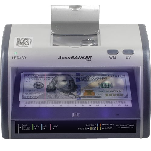 1-AccuBANKER LED430 sedeldetektor